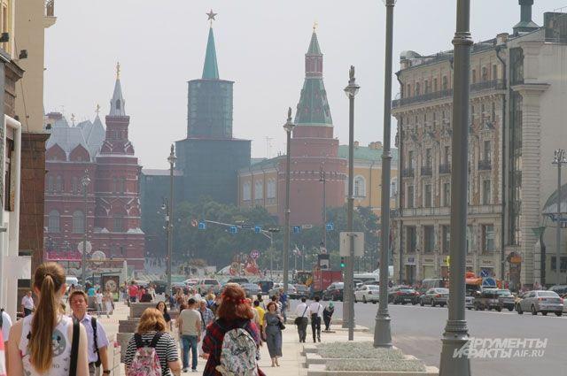 Обновлённая Тверская улица.