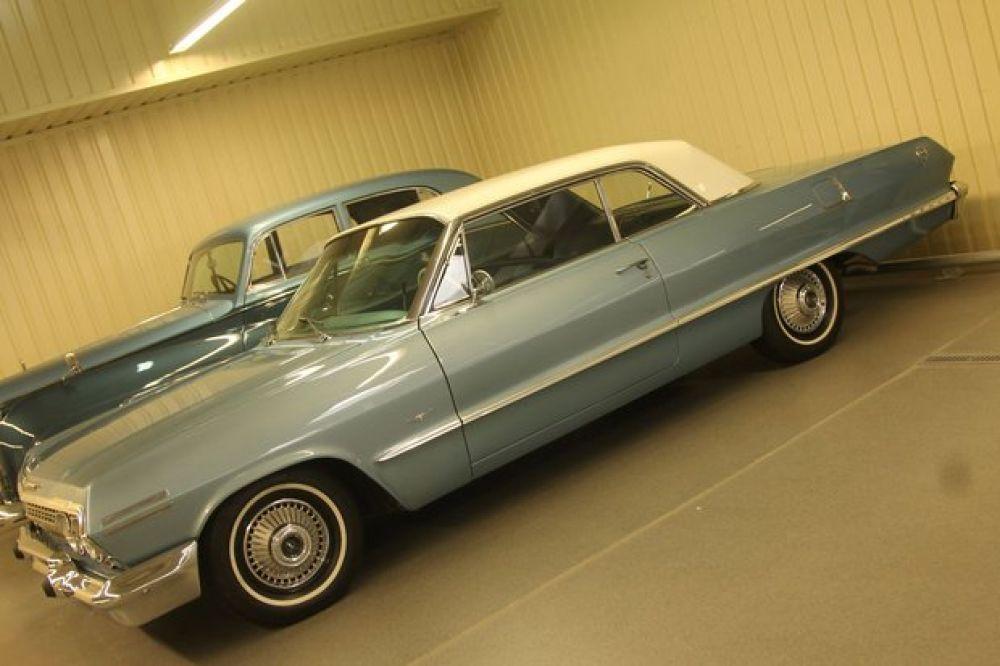 Chevrolet Impala 1963 года выпуска в кузове купе
