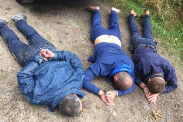 Задержанные преступники