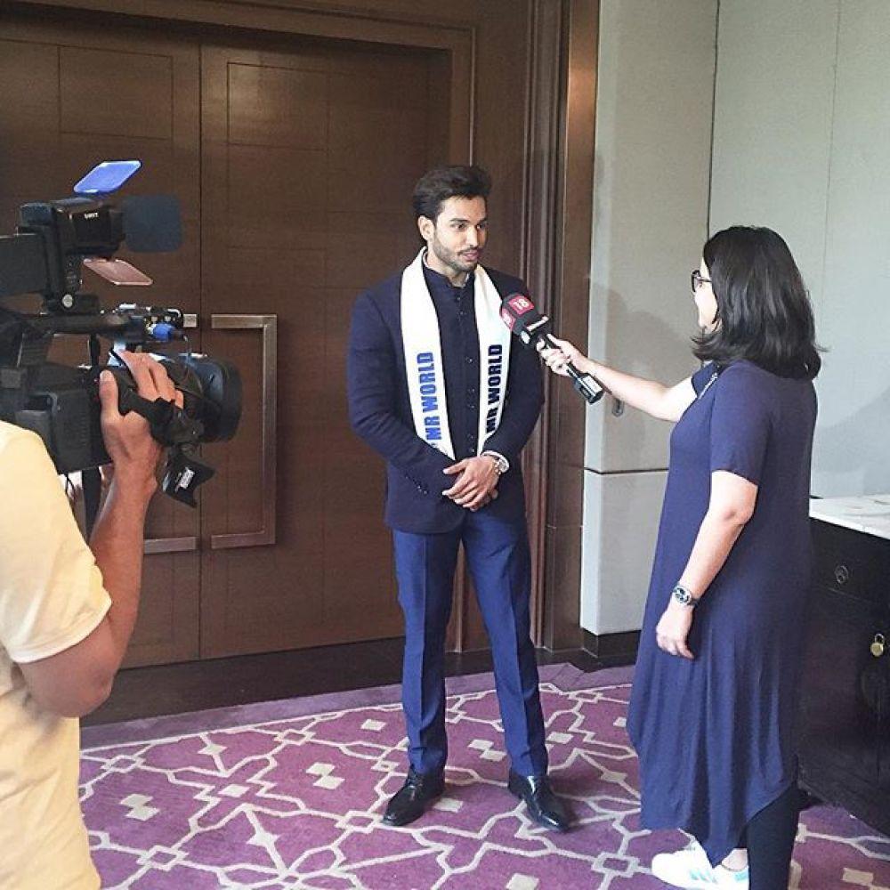 Интервью после конкурса