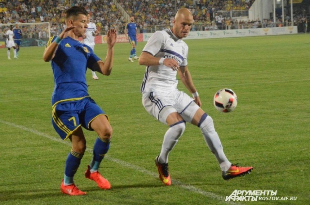 Футболистам «Ростова» дважды по ходу поединка пришлось догонять соперника.