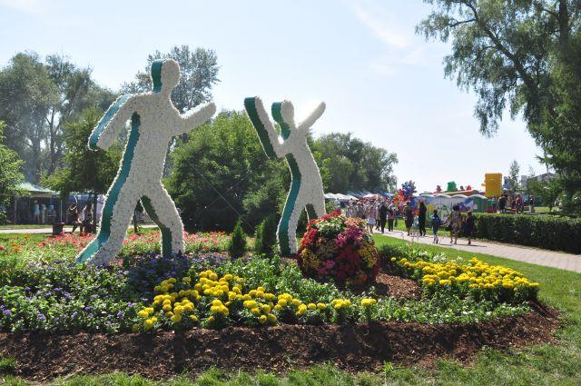 Накануне Дня города омичи смогут посетить юбилейную выставку зелёного строительства.