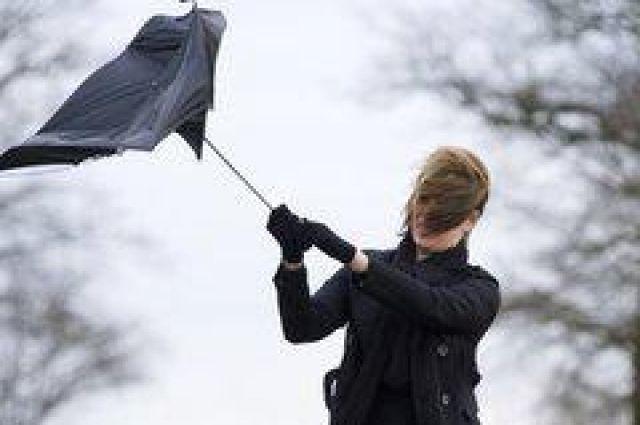 Во время грозы и шквального ветра лучше не выходить из дома.
