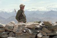 Советский солдат в Афганистане.