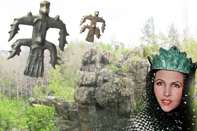 Хозяйка Медной горы из сказов Бажова готова открыть уральцам клады. В том числе показать древнейших бронзовых идолов.