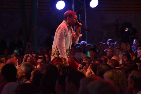 На фестивале можно было услышать популярную украинскую группу ВВ