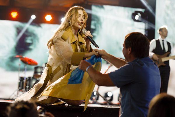 На фестивале Made In Ukraina выступала Тина Кароль