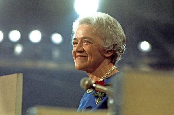 Другой известной женщиной-кандидатом была Маргарет Смит. В 1964 году она заявила о своем выдвижении на должность президента США, став, таким образом, первой женщиной, чье имя попало в список выдвиженцев от Республиканской партии. Она проиграла праймериз Барри Голдуотеру, но завоевала уважение партии и американцев.