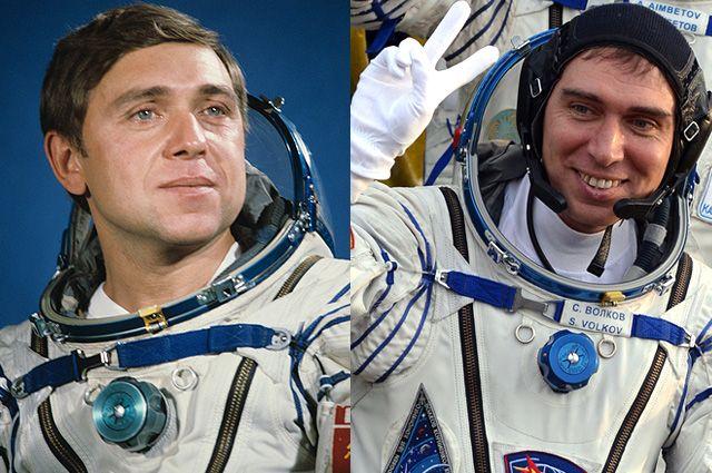 Александр и Сергей Волковы. 1985 и 2015 гг.