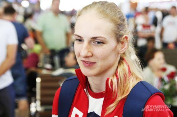Член олимпийской сборной России по синхронному плаванию Светлана Ромашина.