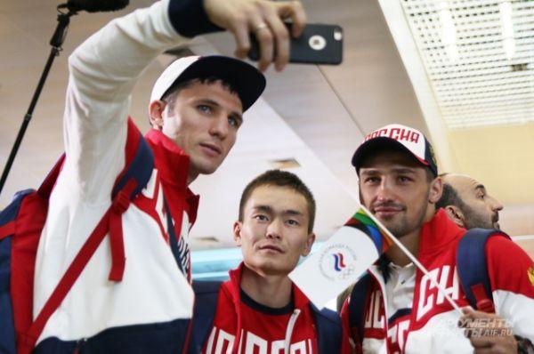 Члены олимпийской сборной России.