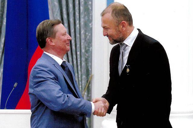 Высокая награда. Андрей Мельниченко получил знак отличия «За благодеяние»