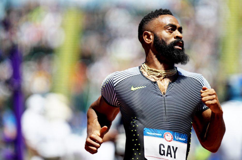 Тайсон Гэй — американский легкоатлет, спринтер. В качестве участника проекта «Вера» (Project Believe) Антидопингового агентства США (USADA) Тайсон Гэй регулярно подвергается антидопинговой проверке.