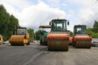 Дорожную сеть города освежат к началу октября.