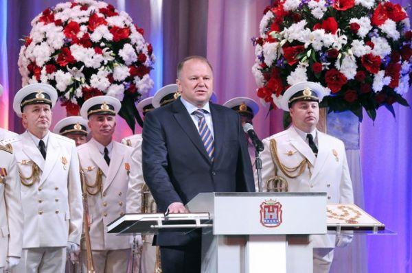 Церемония инаугурации Николая Цуканова. 2015 год.
