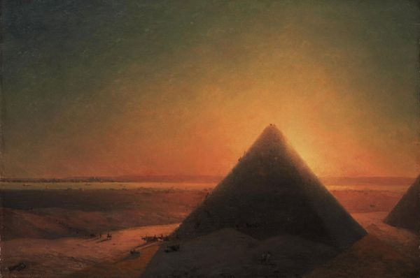 «Великая Пирамида в Гизе» (1871).