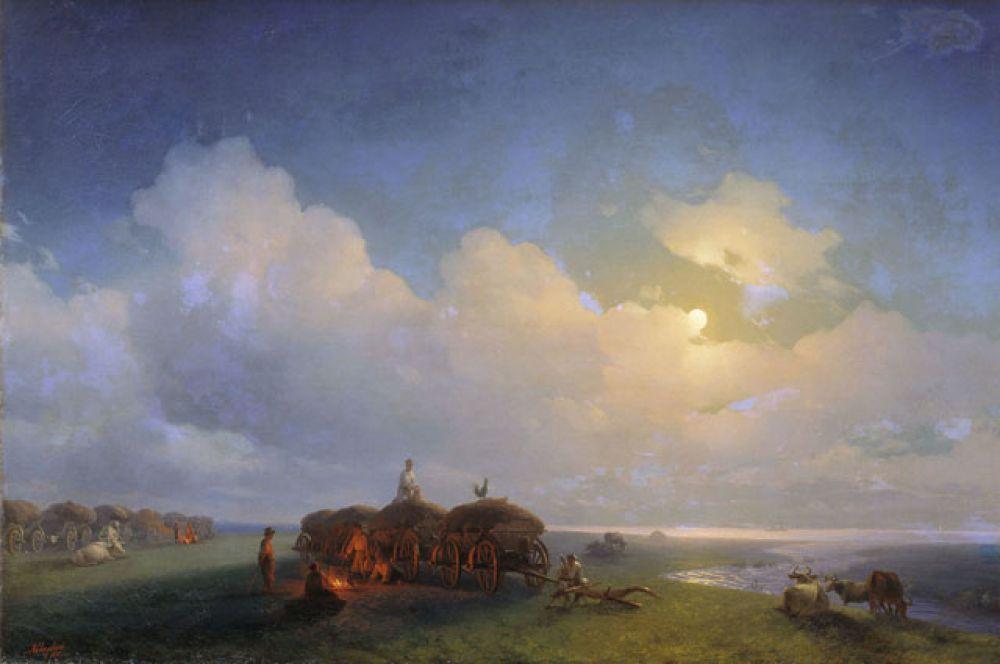 «Чумаки на отдыхе» (1885).