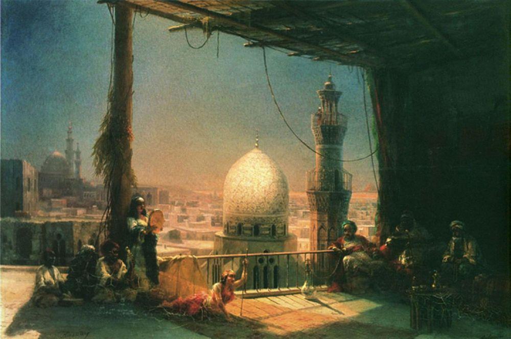 «Сцены из каирской жизни» (1881).