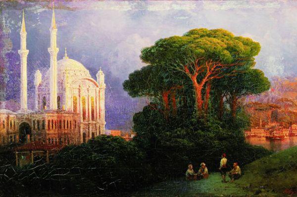 «Вид Константинополя» (1851).