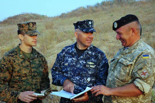 Командование обсуждает планы проведения дальнейших операций