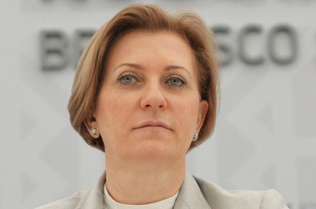 Главный санитарный врач Российской Федерации Анна Попова.