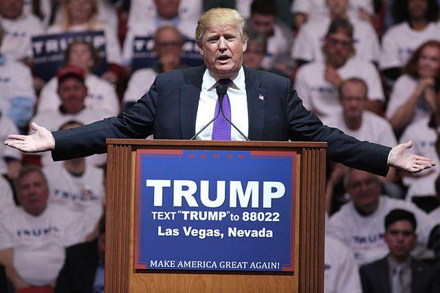 Трамп застрял влифте перед выступлением вКолорадо