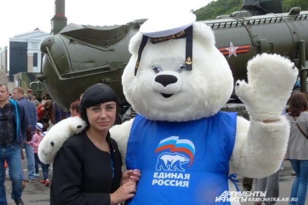 Медведь-моряк.