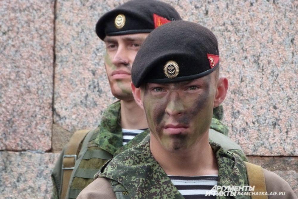 Бойцы разведывательного подразделения.