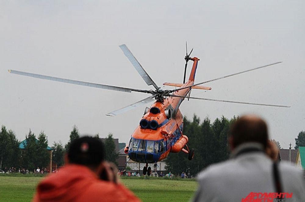 Ми-8 - один из самых распространенных боевых вертолетов в мире. Кислородное оборудование предназначено для обеспечения воздухом экипажа при полетах на высотах до 6000 м, а также раненых и больных при полетах на любых высотах.