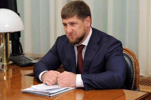 Кадыров зарегистрирован кандидатом напост руководителя Чечни
