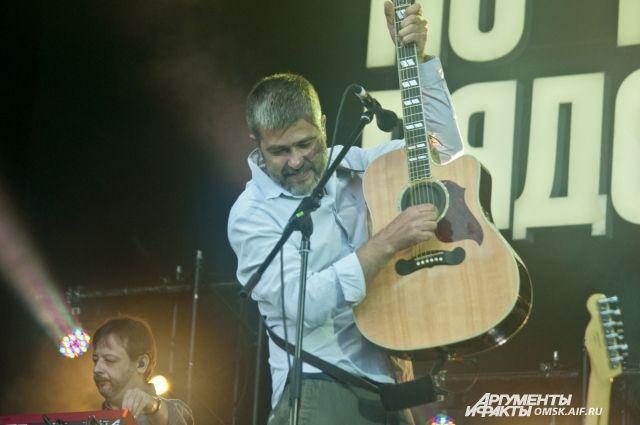Группа «Сплин» сама выбрала Омск для своего концерта.