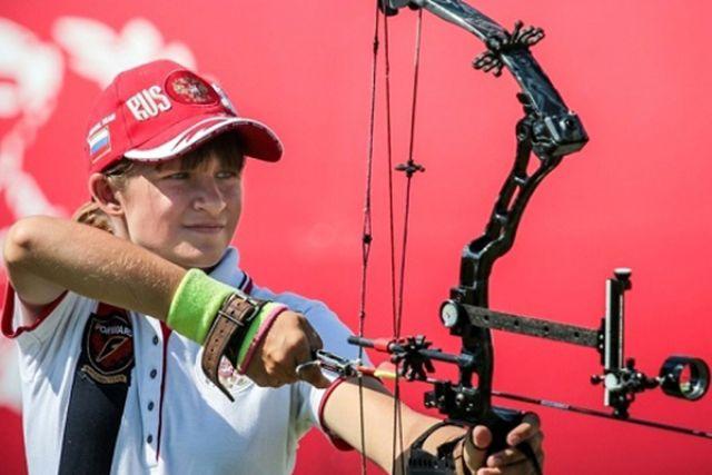 Лучница Наталья Волкова из Калининграда выиграла «золото» первенства Европы.