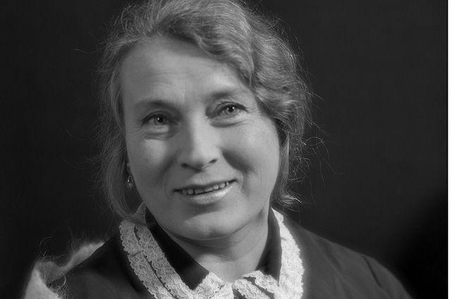 Любовь Сергеевна Соколова, заслуженная артистка РСФСР. 1971 год