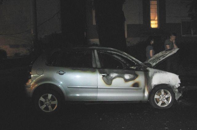 Калининградец поджог автомобиль бывшей супруги из ревности.