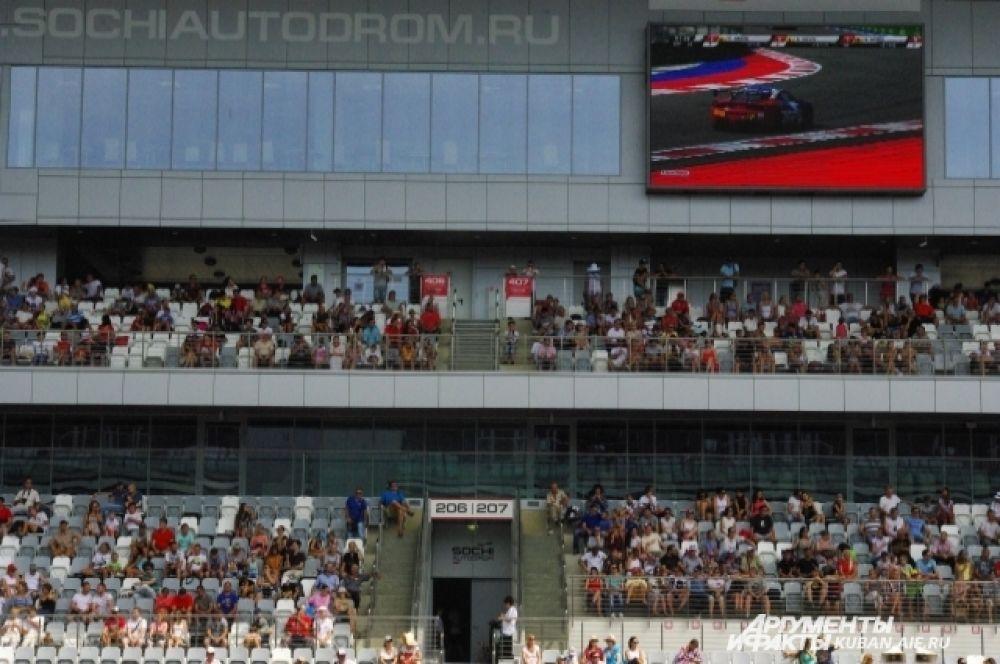 Согласно подсчетам «Сочи Автодрома», за уикенд мероприятие посетили более 20 тысяч зрителей.