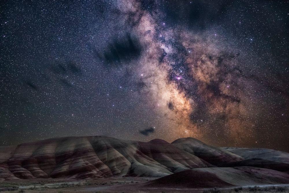 """""""Разрисованные холмы"""" в Орегоне, США. Фотограф - Nicholas Roemmelt"""