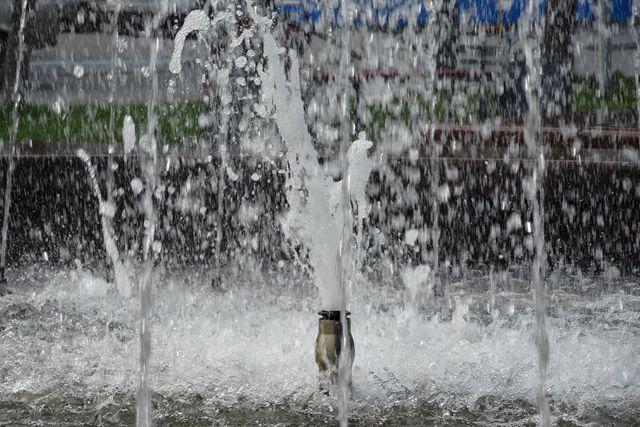 10-метровый фонтан появится на площади перед цирком.