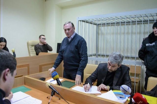 Александр Ефремов в зале суда