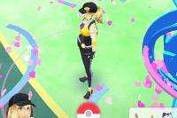 Так выглядит игра Pokemon Go.