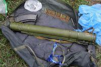 Гранатомет и боеприпасы