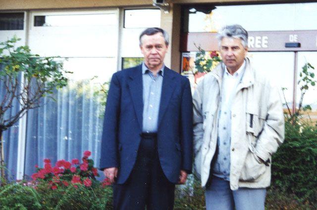 Валентин Распутин и Андрей Румянцев.