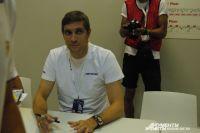 Виталий Петров на Ferrari Racing Days в Сочи.