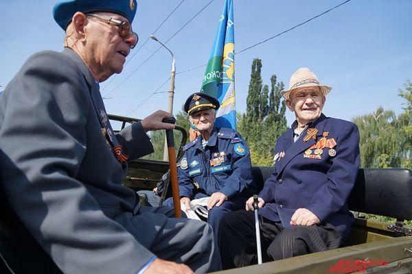 Почётные гости праздника – это, конечно, ветераны войны.