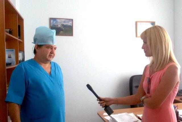 Ангиохирург АРКБ Вячеслав Кожушко