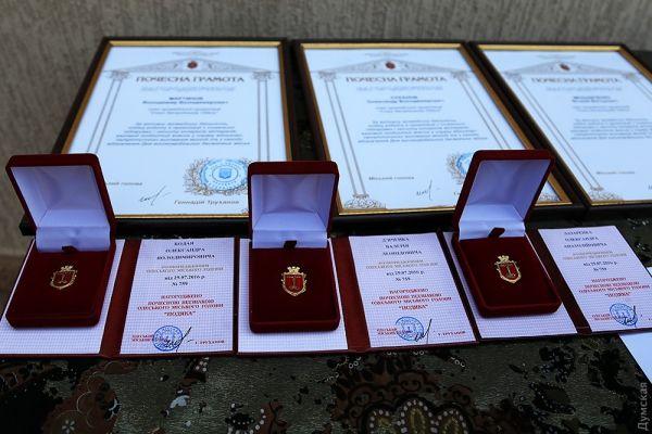 Здесь тоже некоторые были представлены к наградам