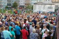 Сход жителей вечером 26 июля: «Нового председателя никто не выбирал!»