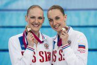 Светлана Ромашина и Наталья Ищенко.