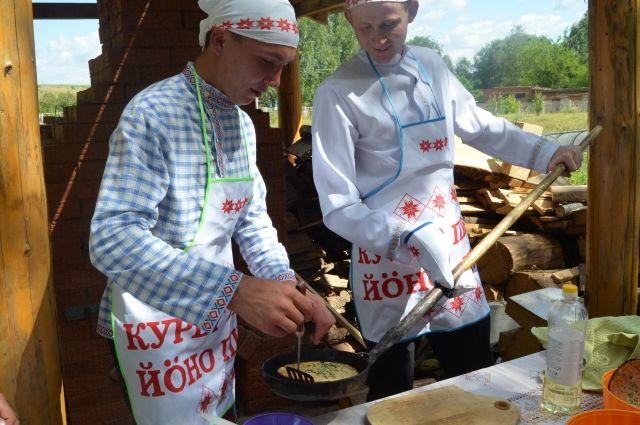 Фестиваль финно-угорской кухни «Быг-быг» состоялся в Удмуртии в третий раз.
