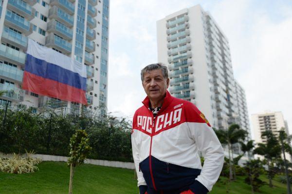 Глава олимпийской делегации сборной России Игорь Казиков.