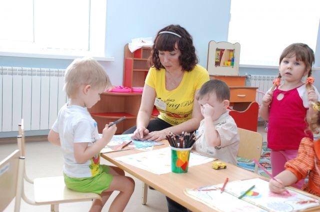 В маленькой группе малышам легче адаптироваться.
